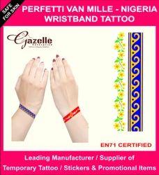 Perfetti Van Melle Wristband Tattoo