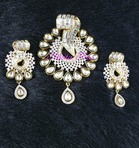 Pendant sets ad pearl pendant set manufacturer from mumbai aloadofball Image collections