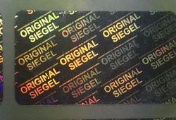 Original Siegel German Hologram Labels