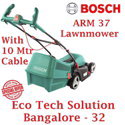 bosch arm 37 electric lawnmower with 10 meter cable from eco tech solution wholesaler of rotary. Black Bedroom Furniture Sets. Home Design Ideas