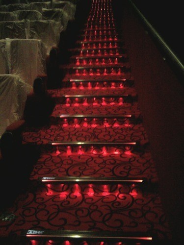 steps lighting. plain lighting to steps lighting