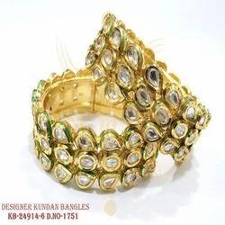 Designer Kundan Bangles