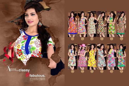 Low Price Cotton Kurti