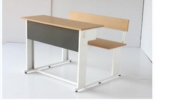 Class Room Desk with Bench - Two Seater