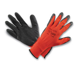 Seamless Nylon Shell With Rubber Coated Gloves Premium