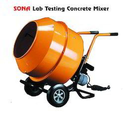 Lab Testing Concrete Mixer