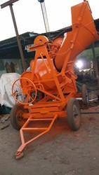 Clutch Concrete Mixer Machine