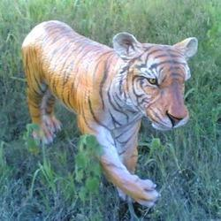 FRP Tiger Sculpture