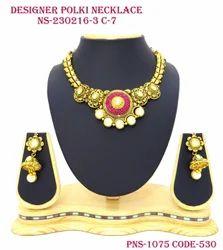 Designer Flower Necklace