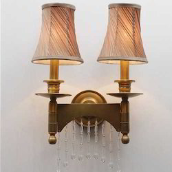Silhouette Antique Downlighter Wall Lamp