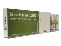 Cimetidine Injection Bp Decimet 200