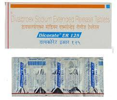 Dicorate ER - 125 mg Tablet