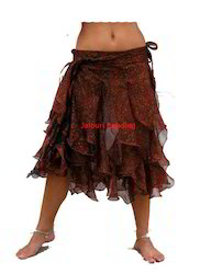 Beach Wear Jalebi Wrap Skirt