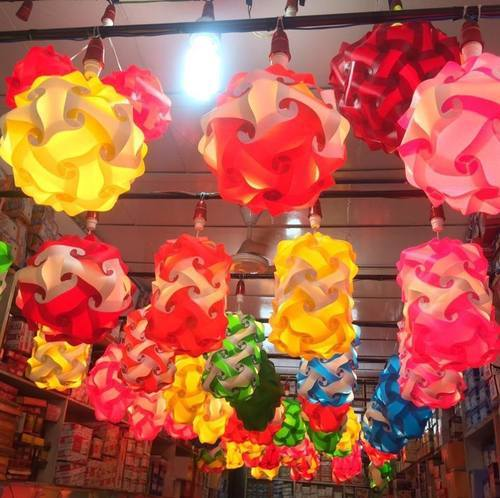 Plastic lamp shade for diwali christmas festival jigsaw lamp or plastic lamp shade for diwali christmas festival jigsaw lamp or iq puzzle lamp manufacturer from vadodara mozeypictures Image collections