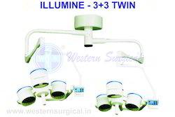 LED Light -3-3- Twin- Ceiling - Model-p-6-a