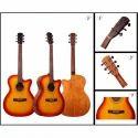Solid Wildman Acoustic Guitars