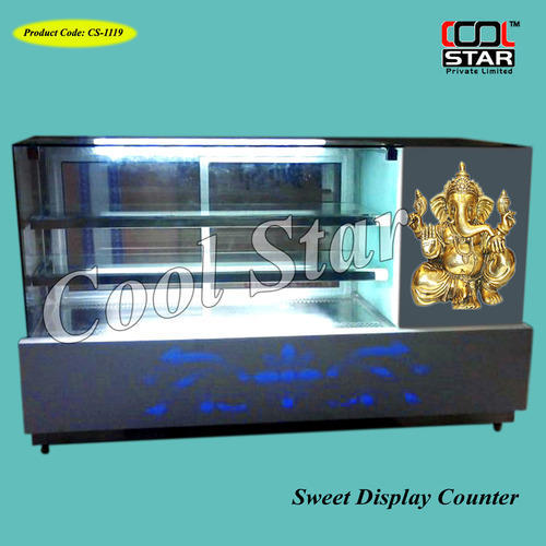Glass Sweet Display Counter