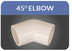 CPVC Elbow 45 Or Shoe Bend