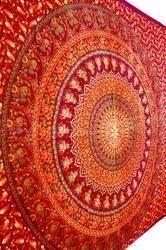Indian Tapestry Bedspreads Beautiful Traditional Print Manda