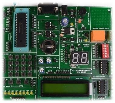 PIC 16F/18F Development Board
