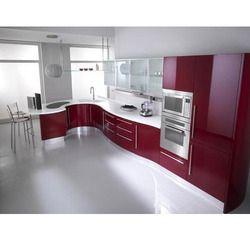 Modular kitchen cabinets rasoighar ki modular almariyan for Prefabricated kitchen cabinets