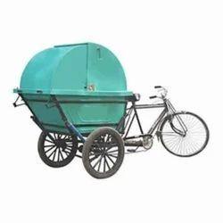 Pedal Driven Rickshaw Bins