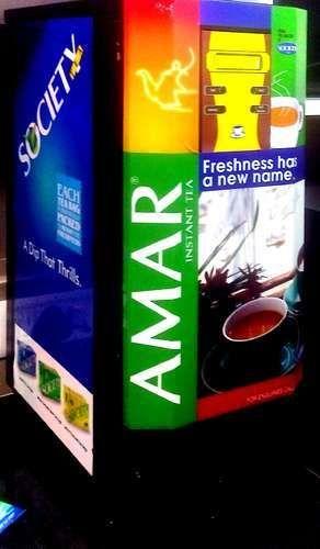Tea Premix Vending Machine