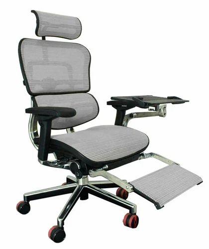 Ergohuman Plus Luxury Chair With Leg Rest