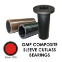 GMP Composite Sleeve Cutlass Rubber Bearing