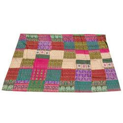 Patola Silk Patchwork Quilts