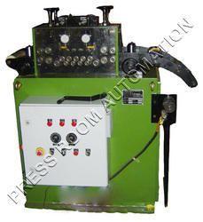 Mechanized Straightener with Dial Gauge