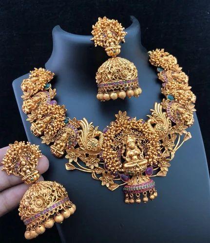 1 Gram Gold Necklace 1gram Gold Jewellery Ecommerce Shop Online