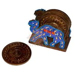 Wooden Tea Coaster Set