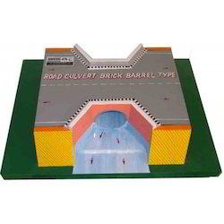 Road Culvert Brick Barrel Type - Model