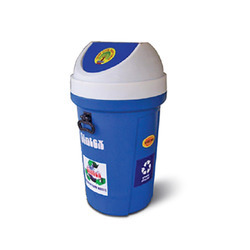 Waste Bins - Vertical With Flap Lids