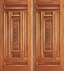 Teak Wood Doors in Chennai, Tamil Nadu, India - Manufacturer and ...