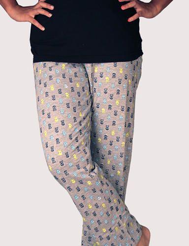 Ladies Cotton Pyjama - Printed