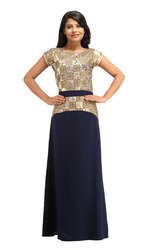 Cottinfab Women's Long Dress