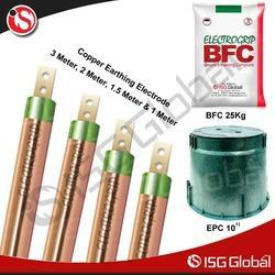 Electrode - Copper Coated Grounding Rods