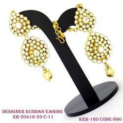 Fancy Kundan Earring