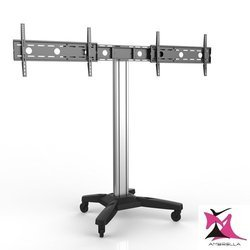 Dual LED TV Cart