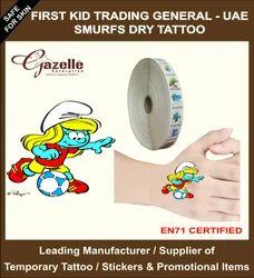 Dry Pressure Base Tattoo