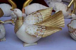 Pigeon Statue Set