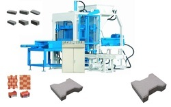 Stationary Type Solid Brick and Block Making Plant