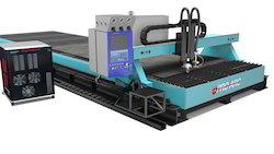 CNC Oxy Plasma Cutting Machine
