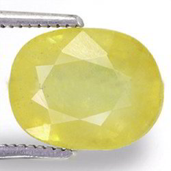 5.78 Carats Yellow Sapphire