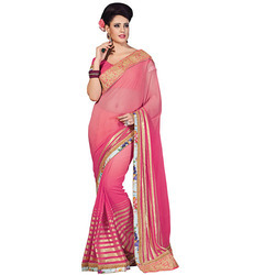 Designer Bollywood Embroidery Saree