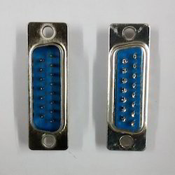0-15- Pin- Male- D Type- Connector