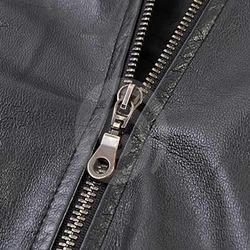 Leather Zipper