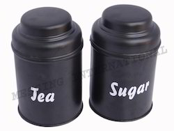 Tea & Sugar Storage Box
